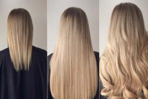 Наращивание волос — способы и технологии