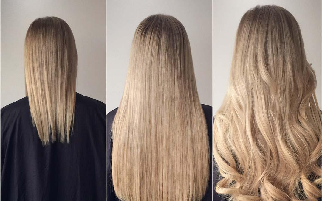 наращивание волос. Самара