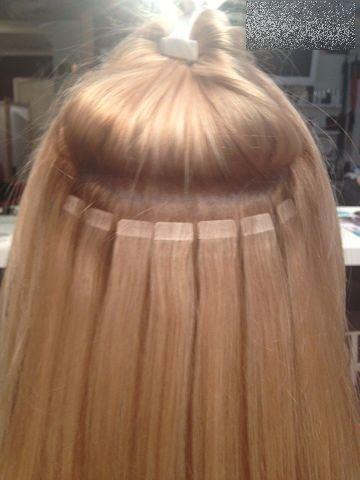 Холодное наращивание волос самара